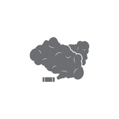 smoke grenade icon. Simple element illustration. smoke grenade symbol design template. Can be used for web and mobile