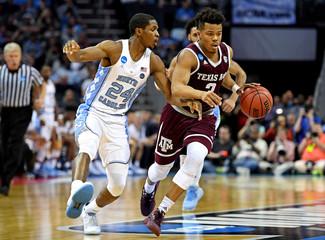 NCAA Basketball: NCAA Tournament-Second Round-North Carolina vs Texas A&M