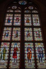 Dec 20, 2017 - Stained glass window, Rijksmuseum, Amsterdam, Netherlands