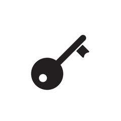door key filled vector icon. Modern simple isolated sign. Pixel perfect vector  illustration for logo, website, mobile app and other designs