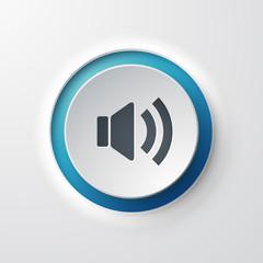 icône bouton Musique Volume
