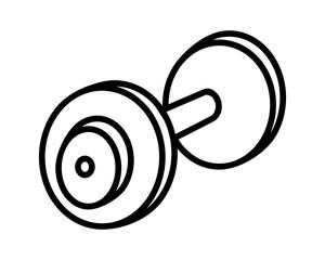 barbell sport icon sport equipment tool utensil sportswear