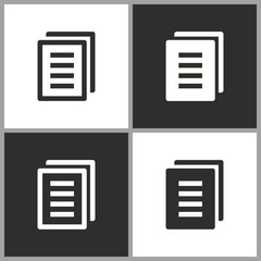 Document - vector icon.