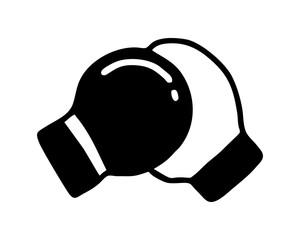 boxing gloves icon sport equipment tool utensil sportswear