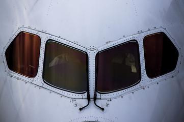 出発前の飛行機