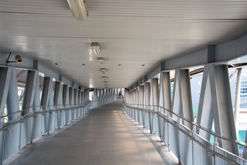 the Omni Bridge overpass walk