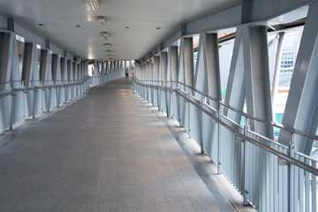 the Omni Bridge overpass walk