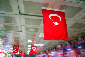 red turkish flag