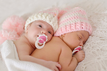 two sweet twins