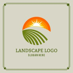 agriculture logo vector