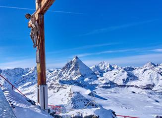 Zermatt (Switzerland) is a very popular ski resort in Europe lyi