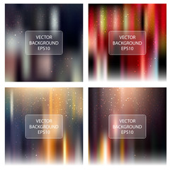 Abstract bright blur backgrounds collection
