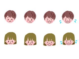 子供 表情 セット