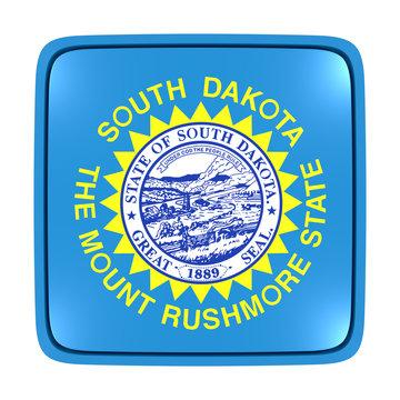 South Dakota flag icon