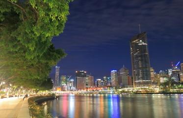 Brisbane downtown skyscrapers cityscape Australia