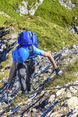 Alpin-Abenteuer Klettersteig