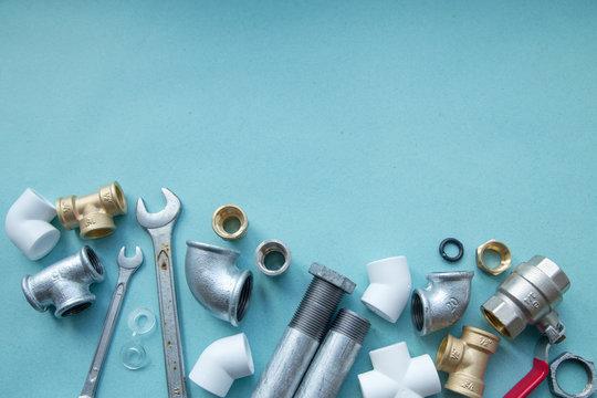 Various plumbers tools