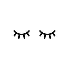 photo regarding Unicorn Eyelashes Printable named Vector unicorn eyelashes. Cartoon animal eyes. Shut lady