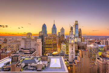 Fototapeta Philadelphia, Pennsylvania, USA Center City