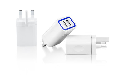 Amazing combo pack of power adapter and highlighted with blue mark latest features. With this adapter lets you connect a universal solution that allows you to connect to any standard wall outlet.