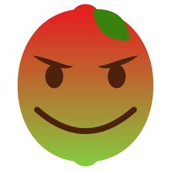 Teufel Emoticon - Limette