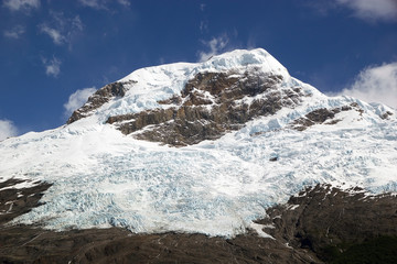 Glacier view from the Argentino Lake, Argentina Wall mural