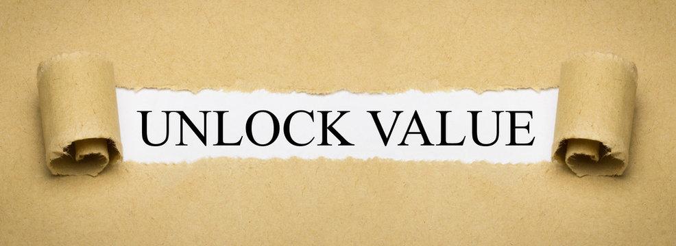 Unlock Value
