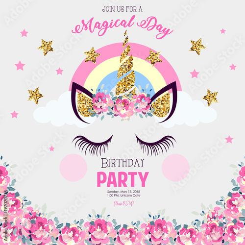 Birthday Party Invitation Stockfotos Und Lizenzfreie Vektoren Auf