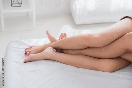 Lesbian foot lovers