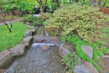 the Nakajima Park  at  Sapporo, hokkaido Japan