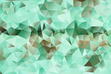 vector multicolored abstract background of effect geometric triangles