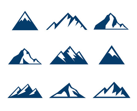 Mountain Icons - Symbols
