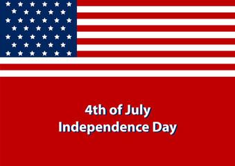 Independence Day Hintergrund. Eps 10 Vector Datei