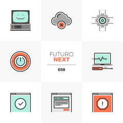 Computer Service Futuro Next Icons