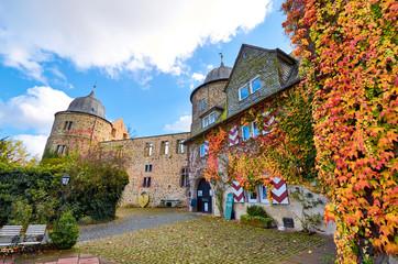 Dornröschenschloss Sababurg im Reinhardswald, Hessen