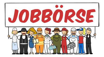 Jobbörse mit vielen Berufen und Jobs