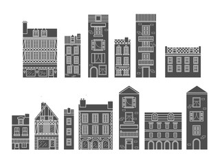 European houses.