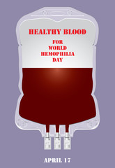 Poster Healthy blood