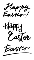 Happy Easter. Vector hand drawn graphic illustration.