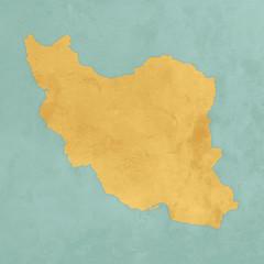 Carte texturée de l'Iran