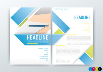 Abstract background, poster flyer brochure cover design layout, company profile, template in A4 size, Vector Illustration
