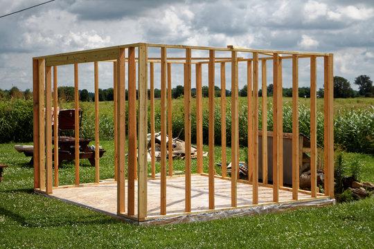 Jimbo's new shed