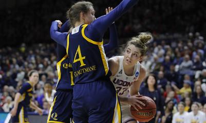 NCAA Womens Basketball: NCAA Tournament Second Round-Quinnipiac at Connecticut