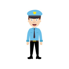 police officer character