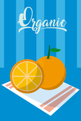 Organic citric orange