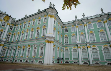 Winter Palace in Saint Petersburg, Russia