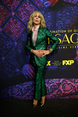 "Cast member Light poses at a panel event for ""The Assassination of Gianni Versace: American Crime Story"" in Los Angeles"