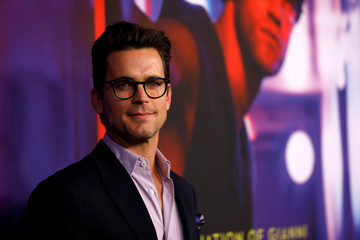 "Actor Bomer poses at a panel event for ""The Assassination of Gianni Versace: American Crime Story"" in Los Angeles"
