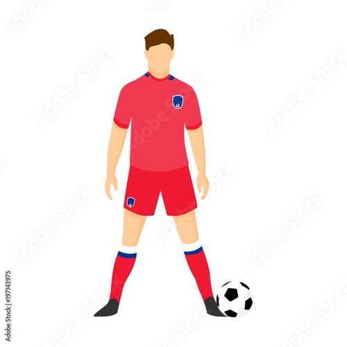 65372ae51 South Korea Football Uniform National Team Illustration