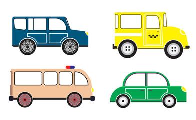 Car. vector set. icon